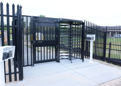 Secure Pedestrian Gate Turnstile